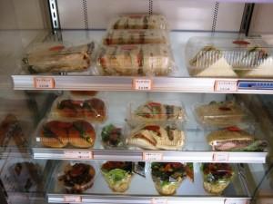 手作りのサンドイッチ